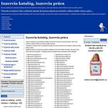 Inzercia – katalog